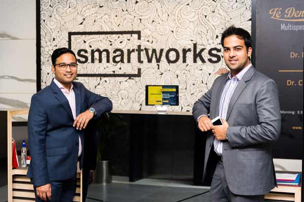 Smartworks' cofounders Harsh Binani and Neetish Sarda