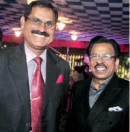 Brig Surinder Yadav and Ghanshyam Sarda